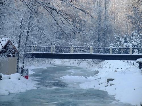 Фотостудия снег