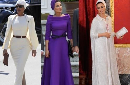 Супруга эмира Катара Шейха Моза посетила Россию