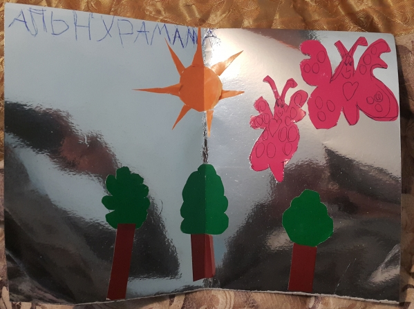 открытки с девочками нарисованные обои на телефон