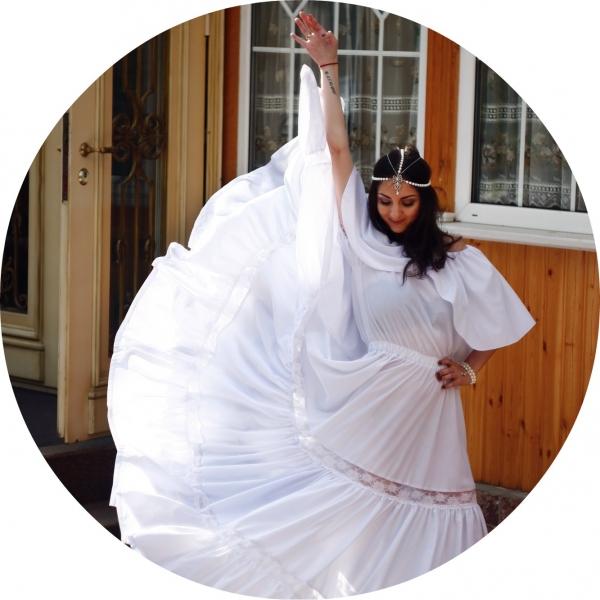фото платье крестьянка